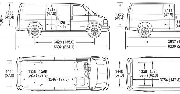 gmc savana interior dimensions