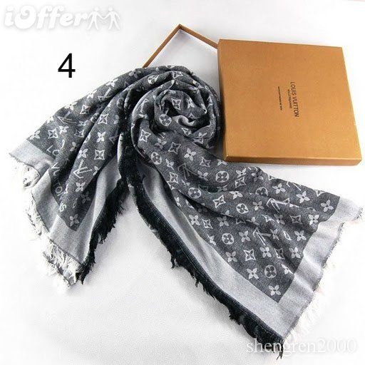 fd2ea350a1a7c Louis Vuitton women men scarf fashion monogram wraps