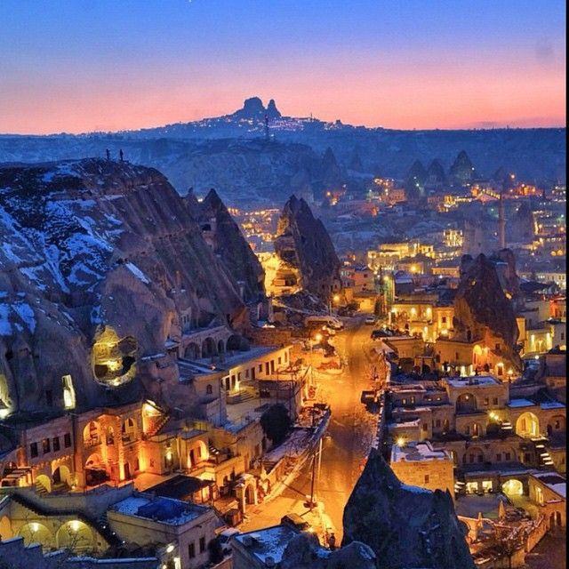Cappadocia, Turkey. Photo courtesy of sassychris1 on Instagram.