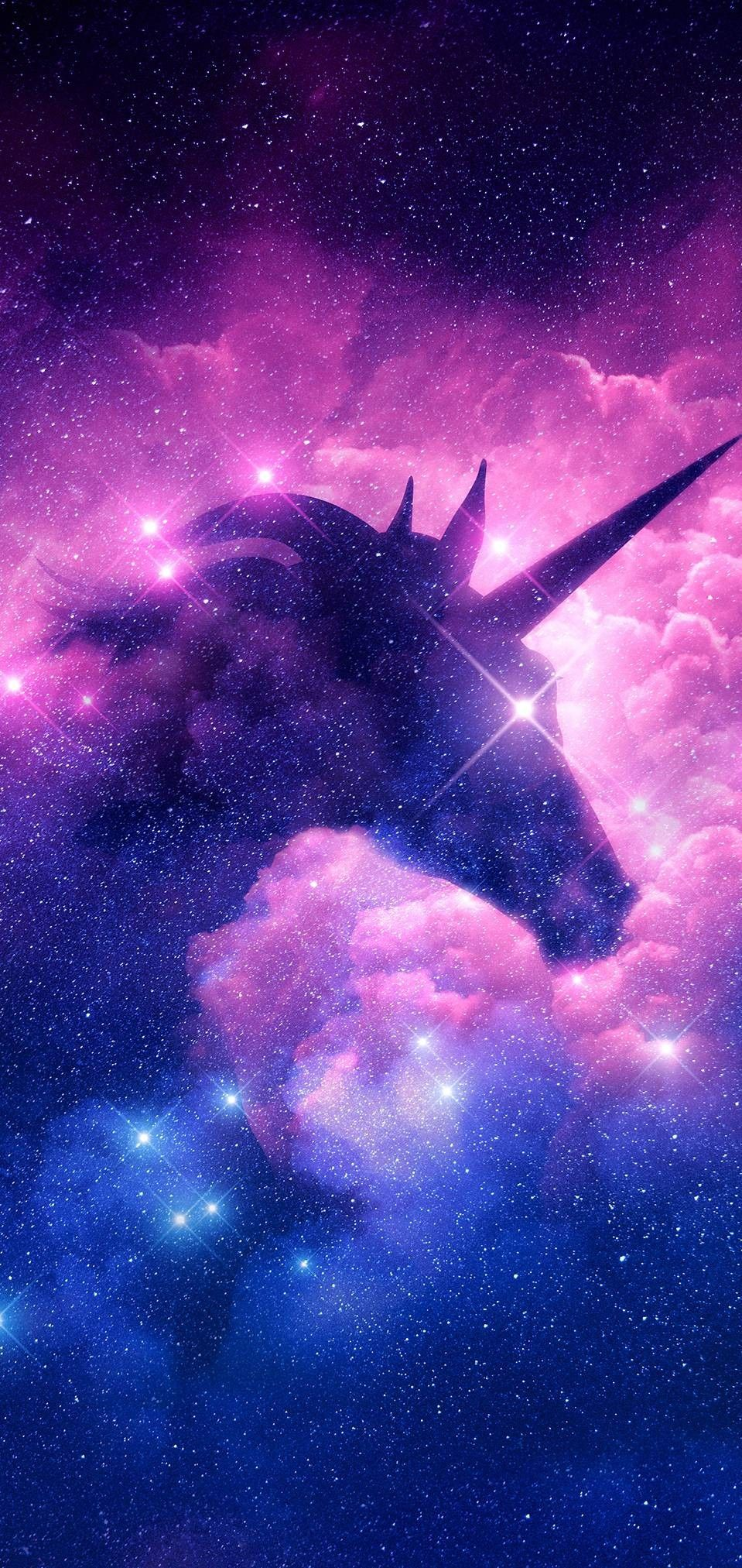 Flying Space Galaxy Unicorn Poster Unicorn Poster Unicorn Pictures Unicorn Wallpaper