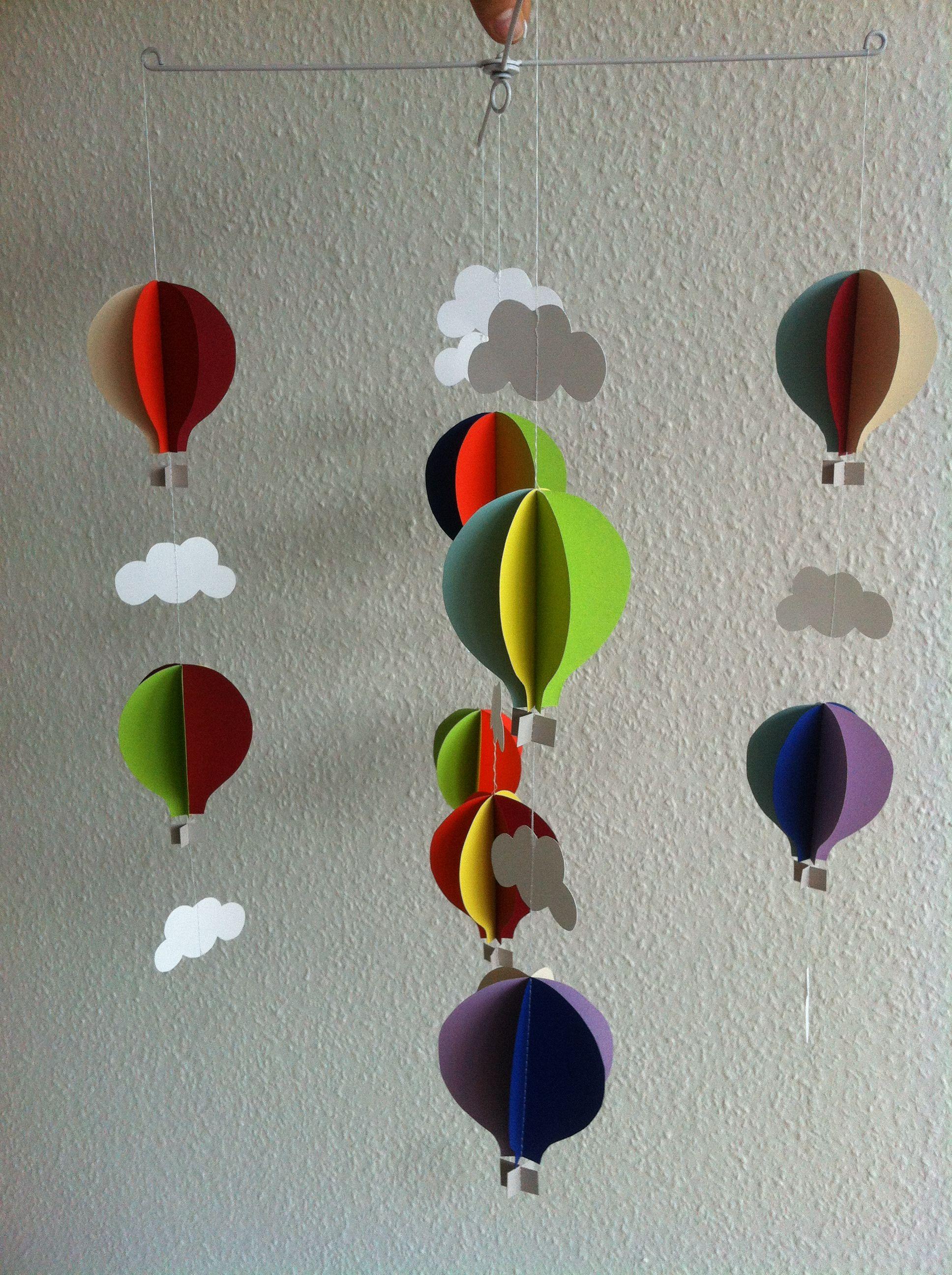 Luftballon uro til puslebordet Kreative ideer, Kreativ