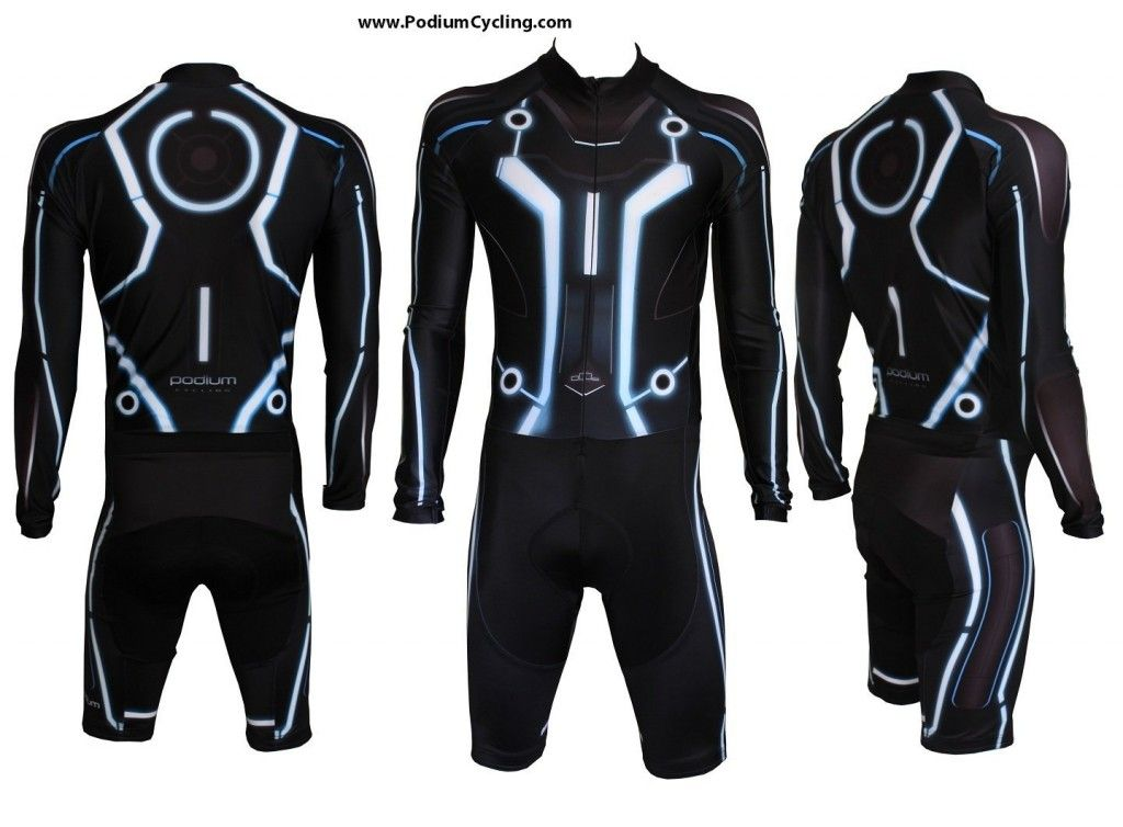 futuristic clothing men tron