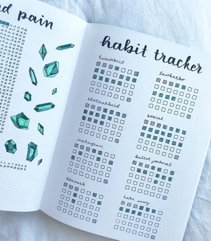 15 Clever Habit Tracker Bullet Journal Ideas To Finally Break Bad