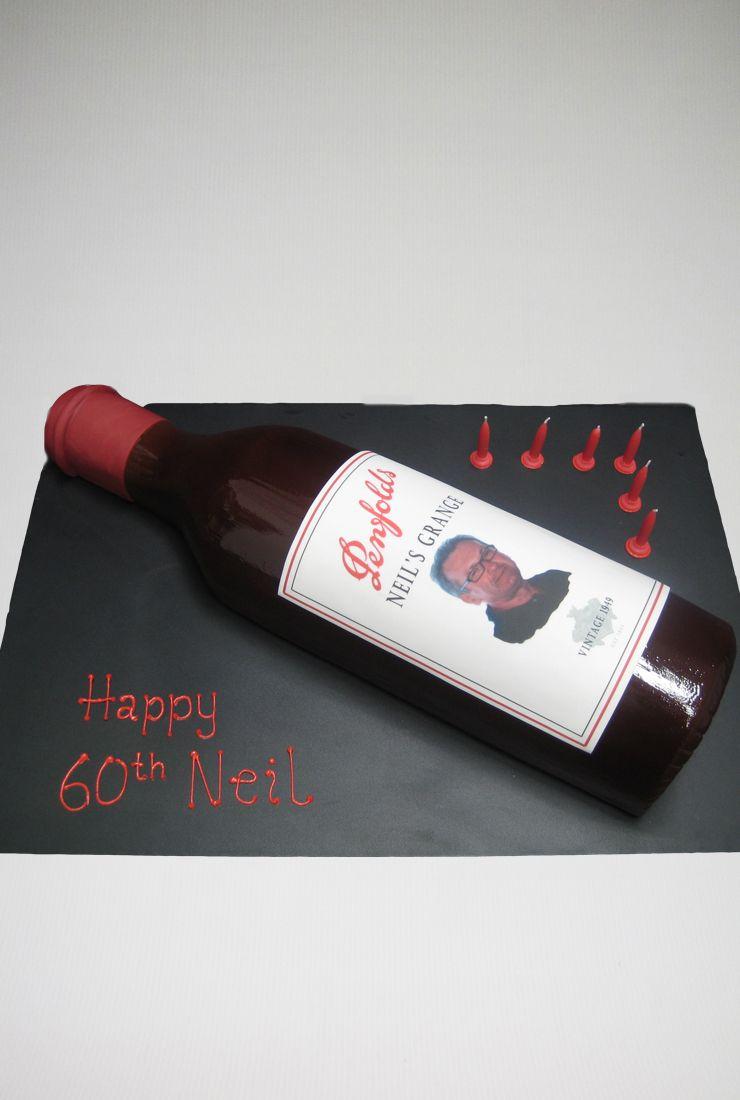 Penfolds Wine Bottle cake