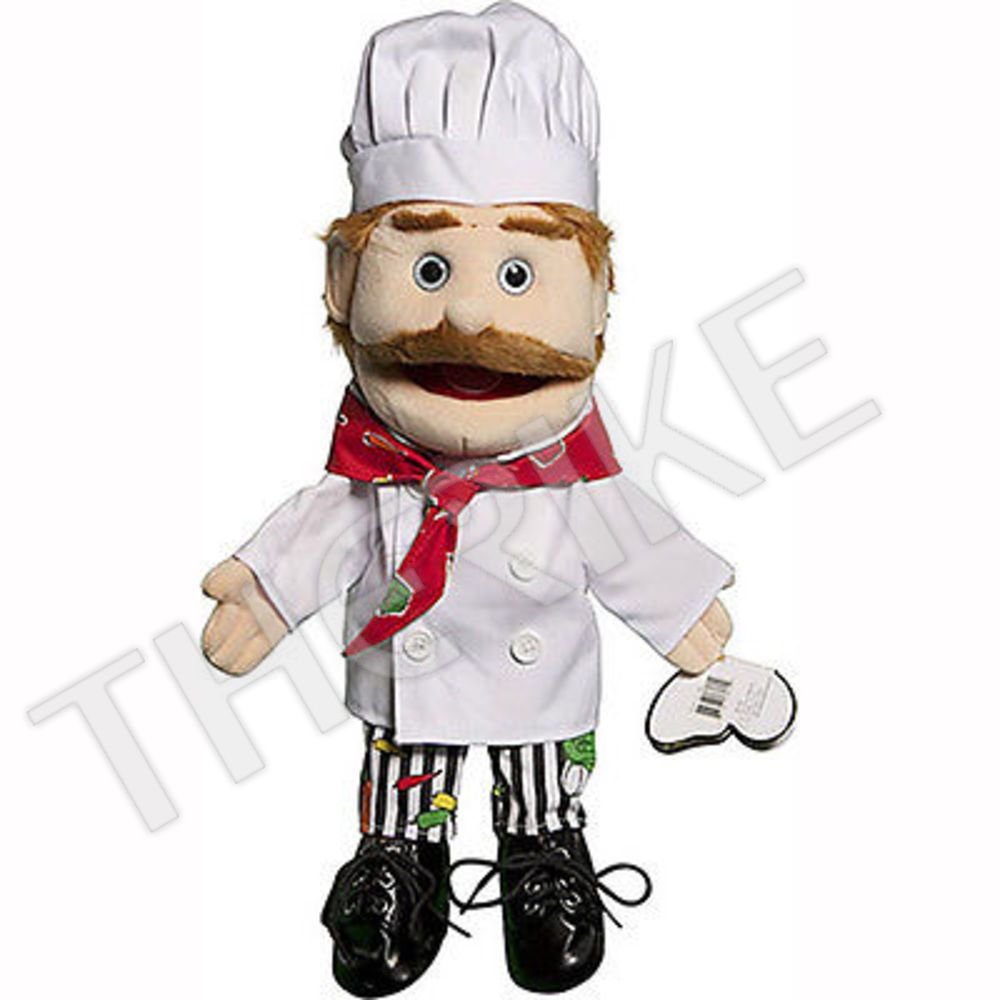 Full Body Puppet NEW Sunny Toys GS4302B 28 In Ethnic Dad In Red Suit
