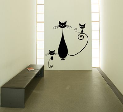 Wall Sticker Cat   Want Part 30
