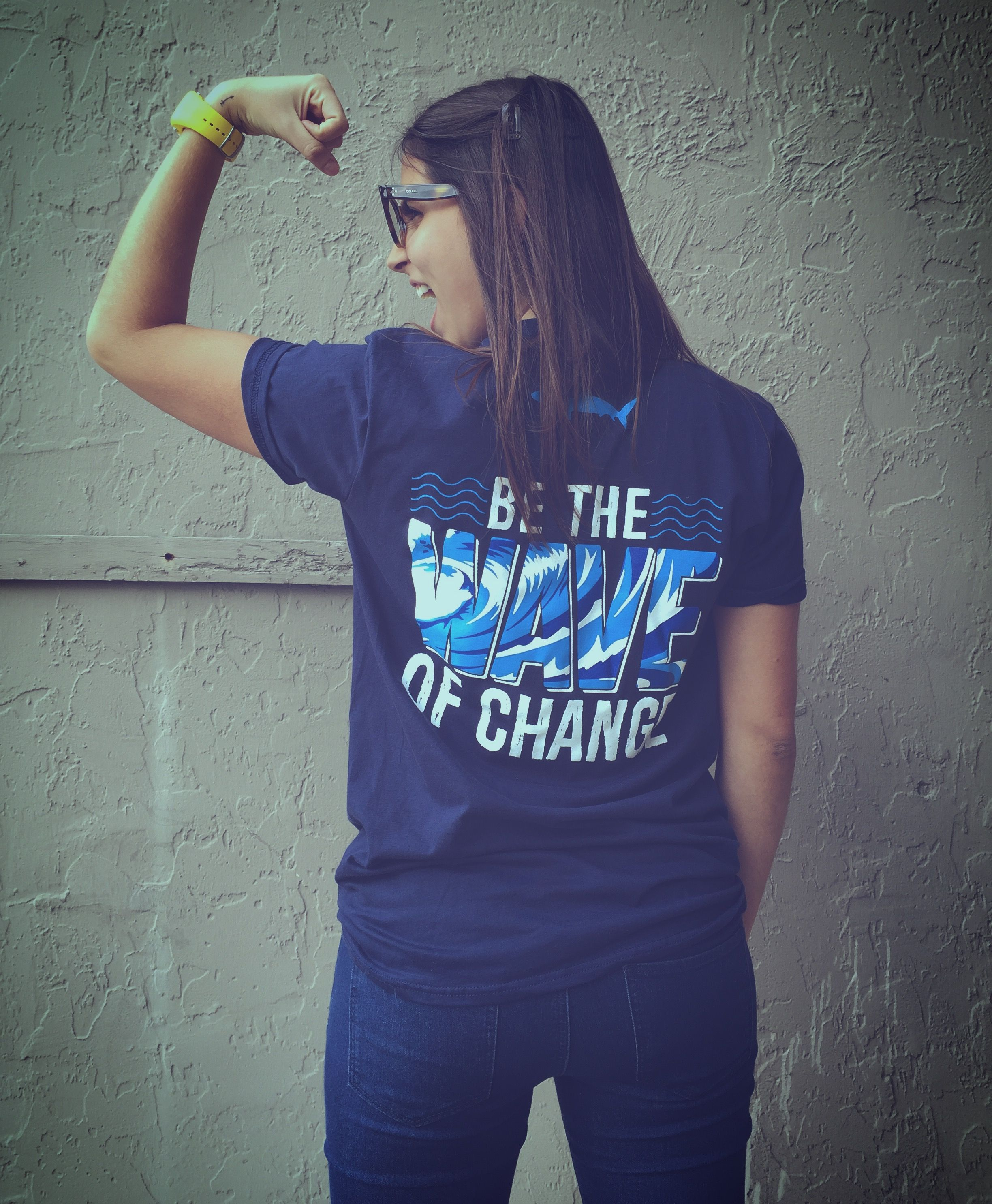 T-shirt design questionnaire - Be The Wave Of Change Custom T Shirt Design Ideas For College Students Campus