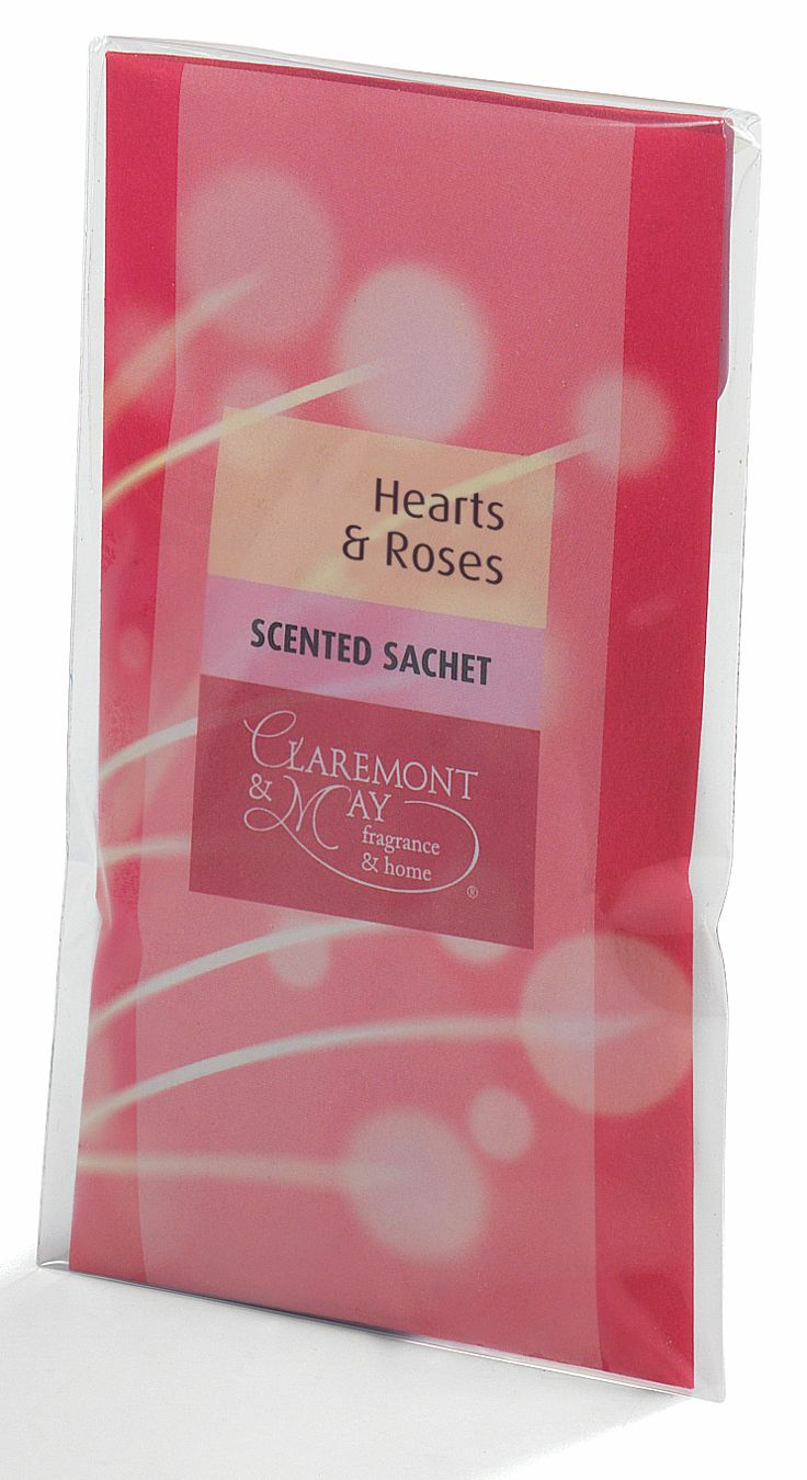 Small sachet of scented granules with a powerful, long