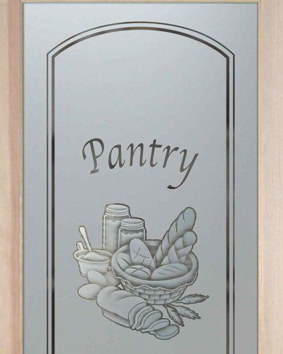 Bread basket pantry door 2d sandblasted etched glass pantry door bread basket pantry door 2d sandblasted etched glass pantry door by sans soucie art glass planetlyrics Choice Image
