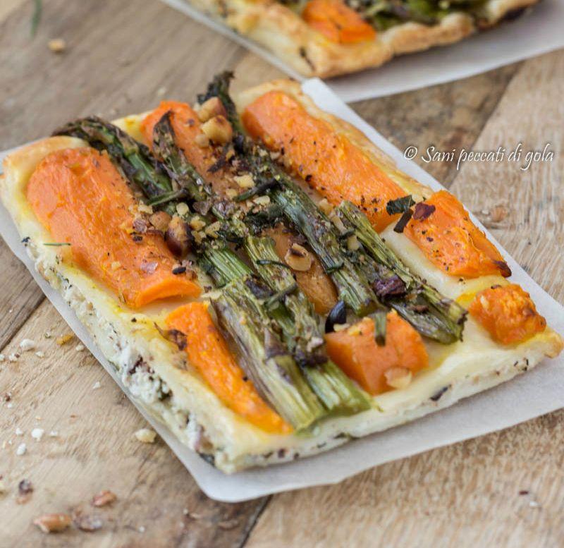 Sfoglia+delicata+agli+asparagi+e+carote