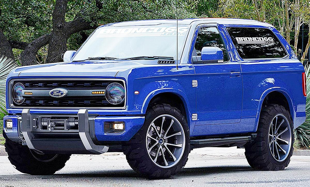 Ford Bronco 2020 Images Price and Release Date di 2020