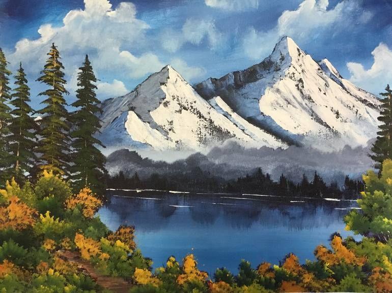 Mountain Landscape Paintings