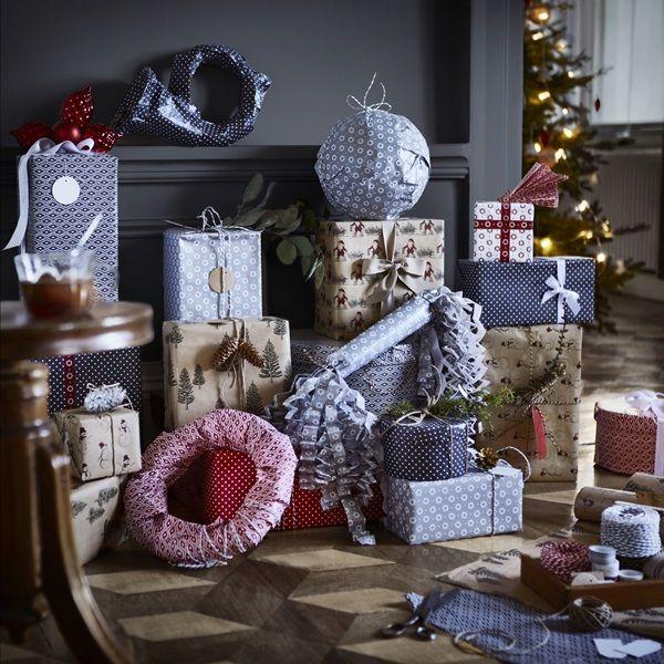 Romantisk och röd jul hos IKEA 2015 ‹ Dansk inredning och