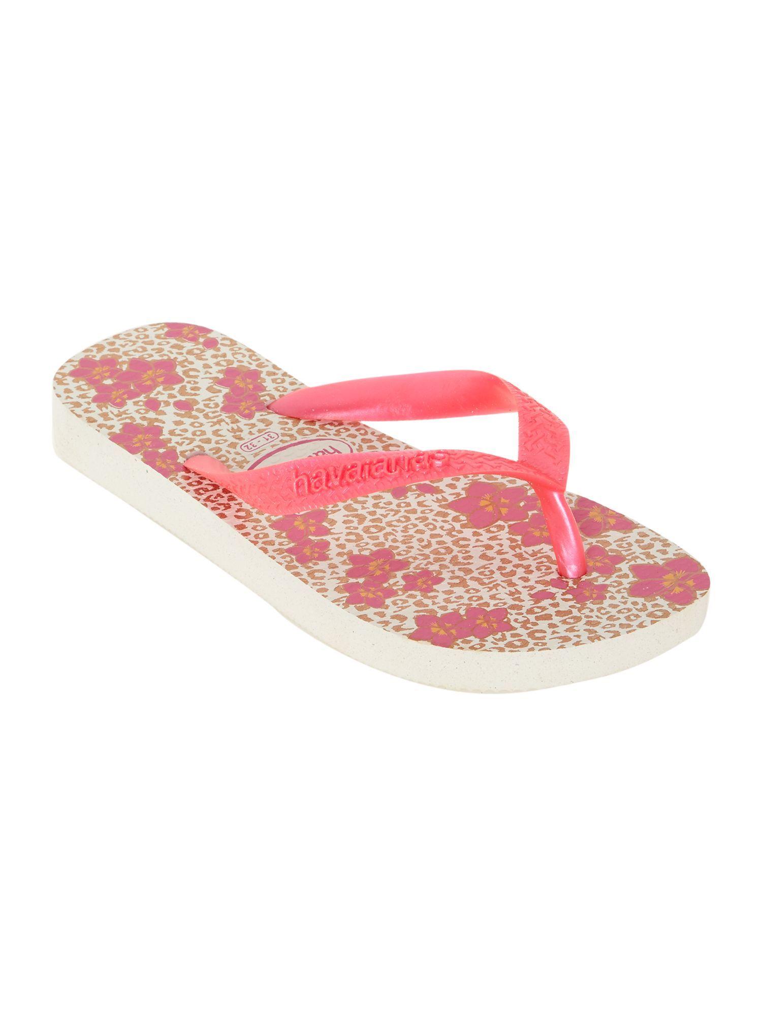 64b840b9462b Havaianas Girls Floral animal print flip flops