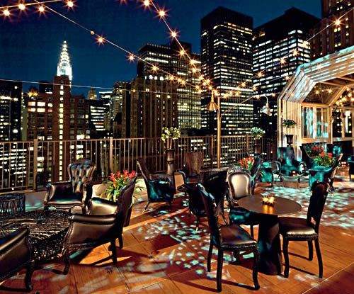 Up On The Roof Where The Drinks And The Manhattan Views Are