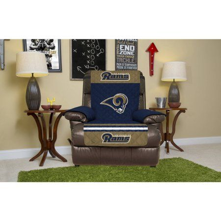 Excellent Nfl Licensed Furniture Protector Recliner Los Angeles Rams Machost Co Dining Chair Design Ideas Machostcouk