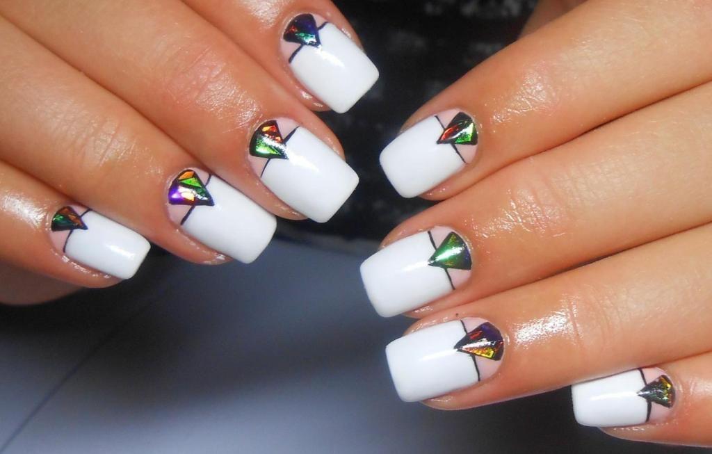красивый дизайн ногтей на выпускной 3