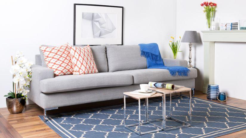 Graues Sofa sofa grau und grau toprabatt bis 70 interiors