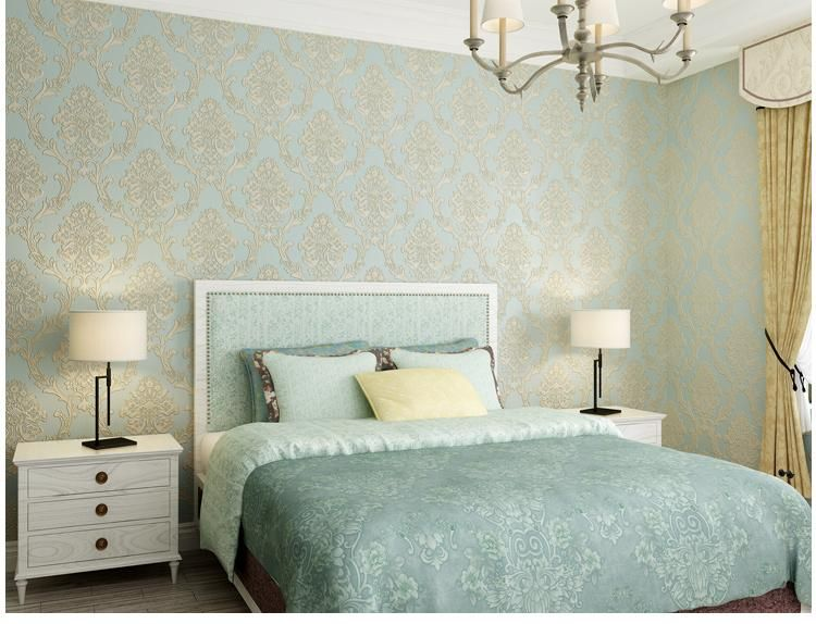 Best Luxury Modern 4D Bedroom Wallpaper 3D Home Decoration 640 x 480
