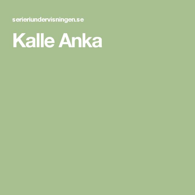Kalle Anka Pdf