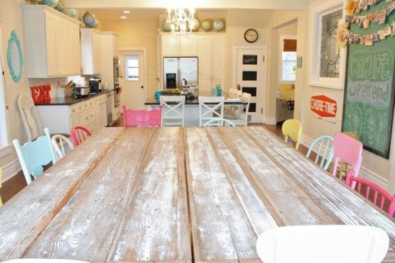 Love All The Different Colored Chairs Craft Weekend The Pleated Poppy Yard Or Craftroom Idea Guest Room Office Home Crafts House