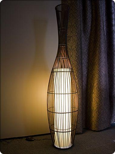 Pekan bamboo floor lamp portables floor lamps new zealands leading online lighting store