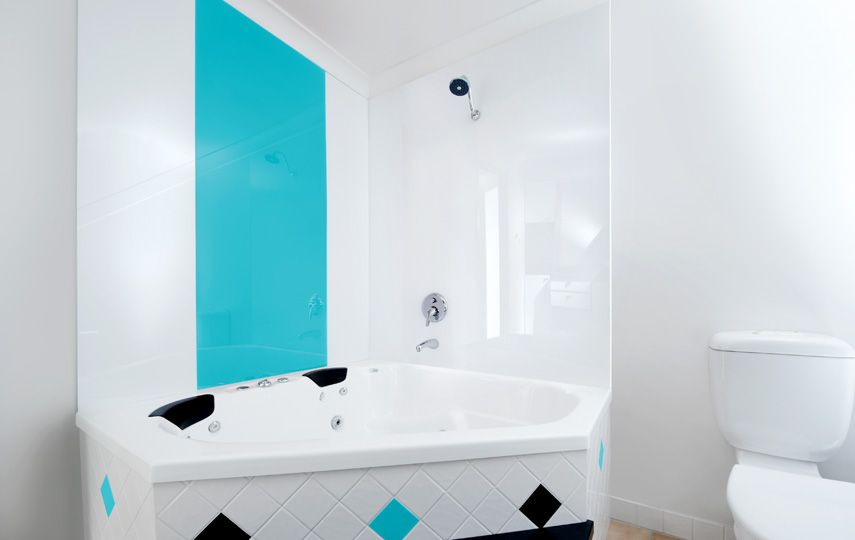 Acrylic Wall Panels Instead Of Tiles In The Bathroom. Yes!!!!