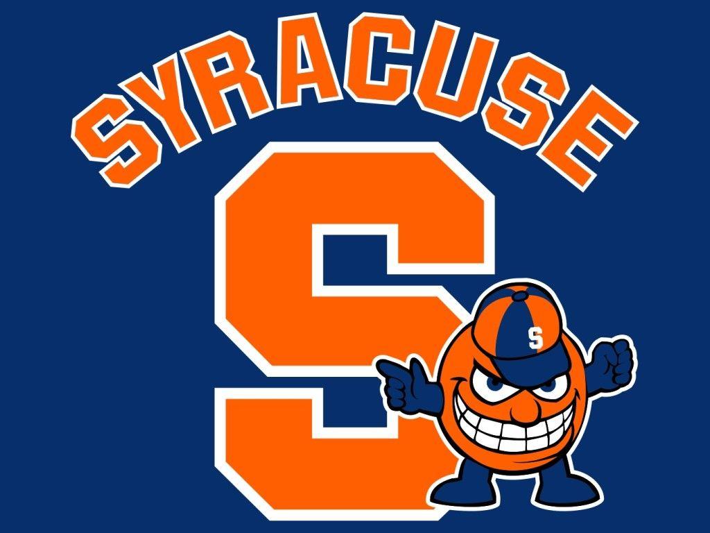 syracuse university oranges mascot monday logo projects