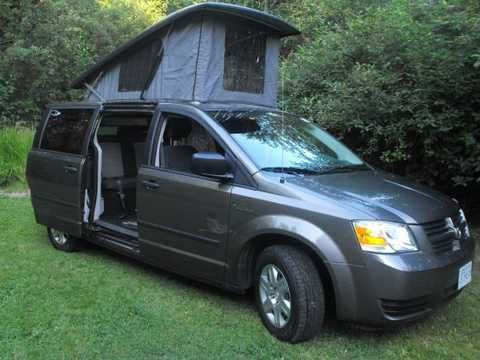 Dodge Grand Caravan Illusion Camper Van Travel Camper Town And