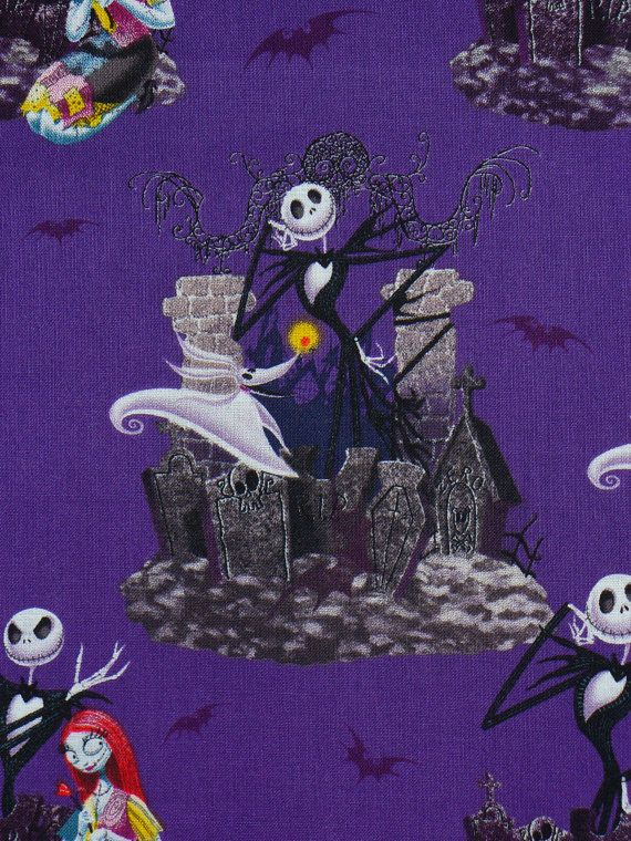 Nightmare Before Christmas Fabric Jack By