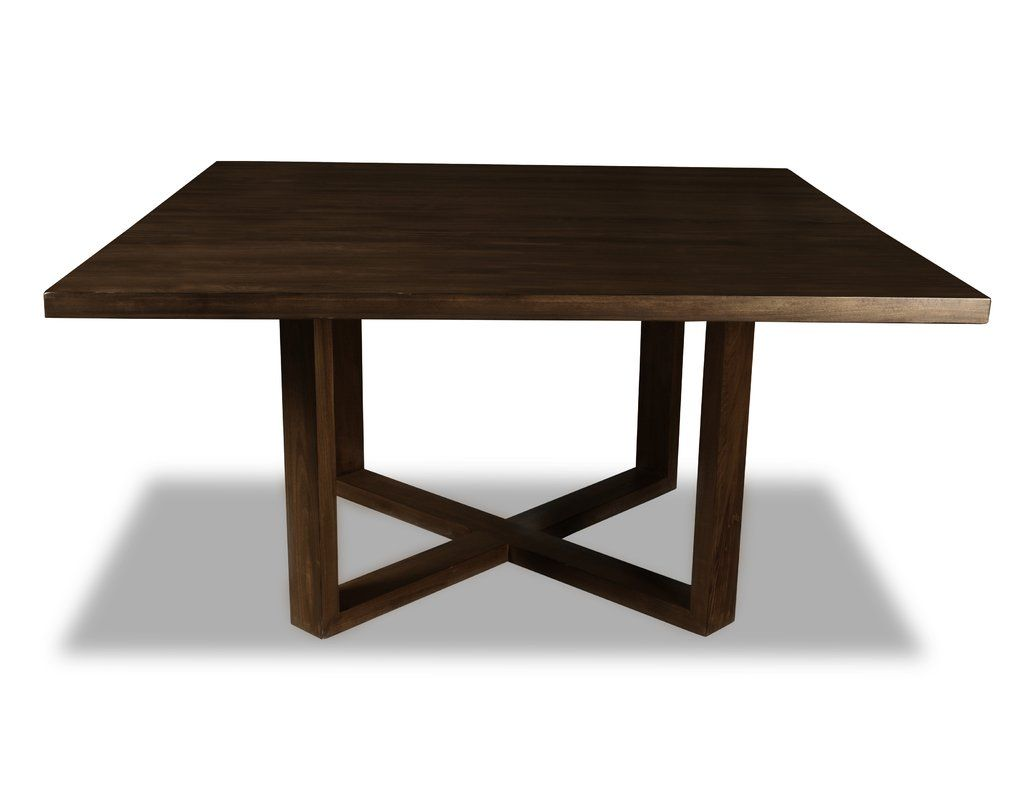 Nusbaum Dining Table Solid Wood Dining Table Square Dining
