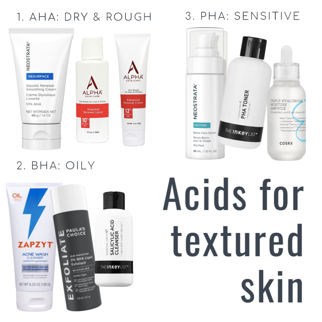 Best Skin Care For Texture Acne Wash Skin Skin Care