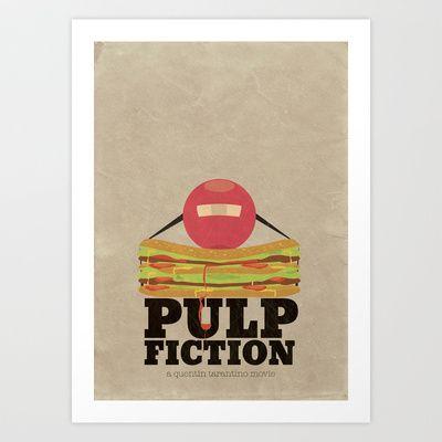 Pulp Fiction - Minimal Poster