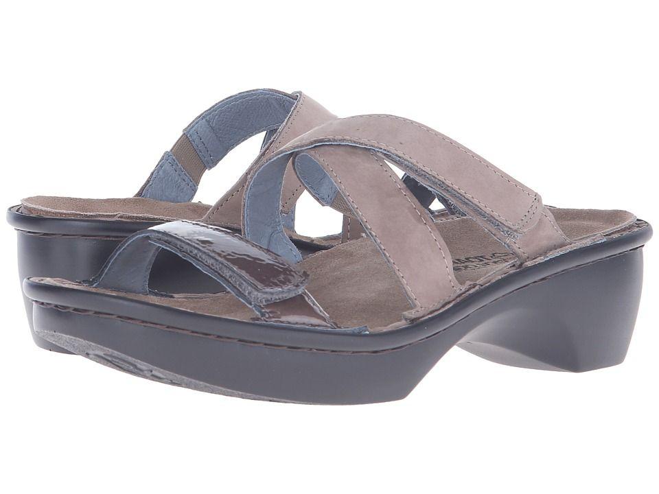 9f2d5e55880a Naot Quito Women s Shoes Stone Nubuck Shiitake Patent Leather ...