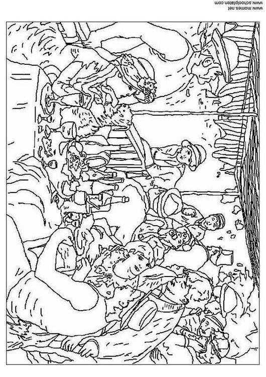 Coloring page Renoir - img 3123. | Colorear | Pinterest | Colorear ...