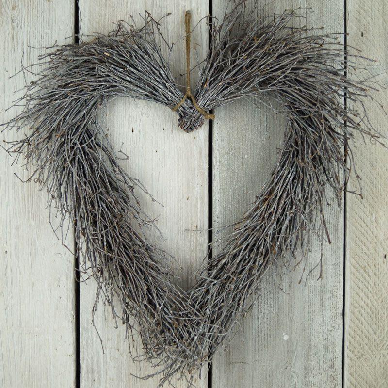 birch twig heart