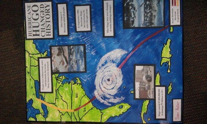 hurricane school project