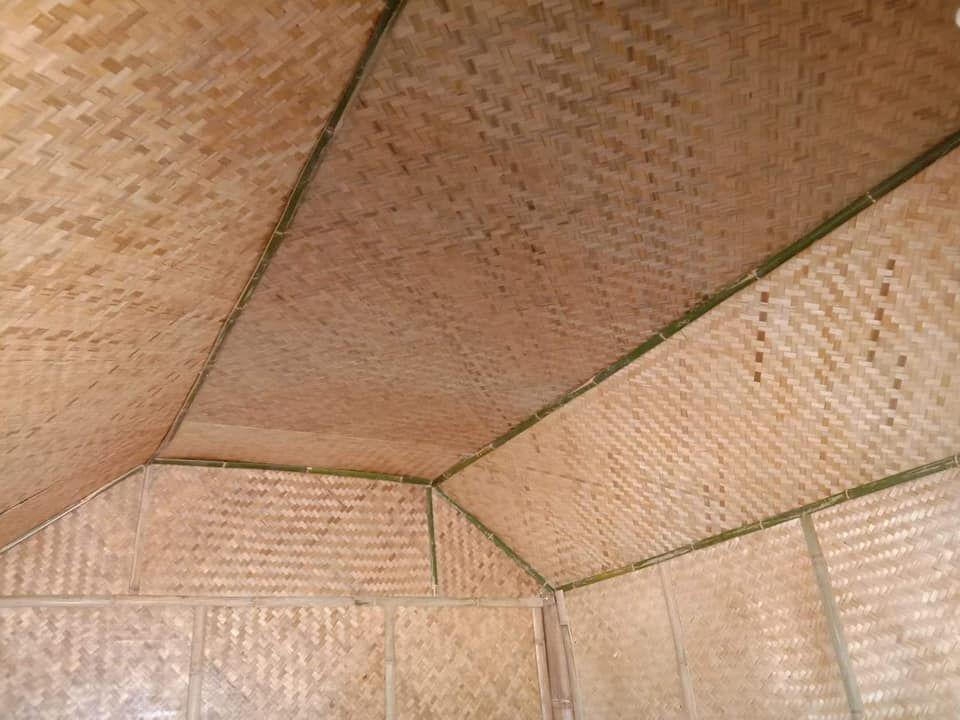 แบบบ านสวน กระท อมไม ไผ 2 ห องนอน 1ห องน ำ ระเบ ยงกว าง พร อมม มคร ว งบ 78 000 บาท Ihome108 Flooring House Tile Floor