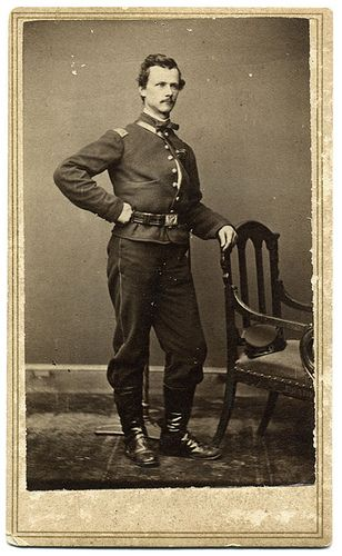 Carte De Visite By Mathew Brady Of New York City And Washington DC Elisha Little Hayward Started His War Service In May 1861 As Captain Company H