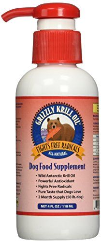 Grizzly Pet Products Krill Oil For Dogs Oils For Dogs Krill Oil Dog Food Supplement