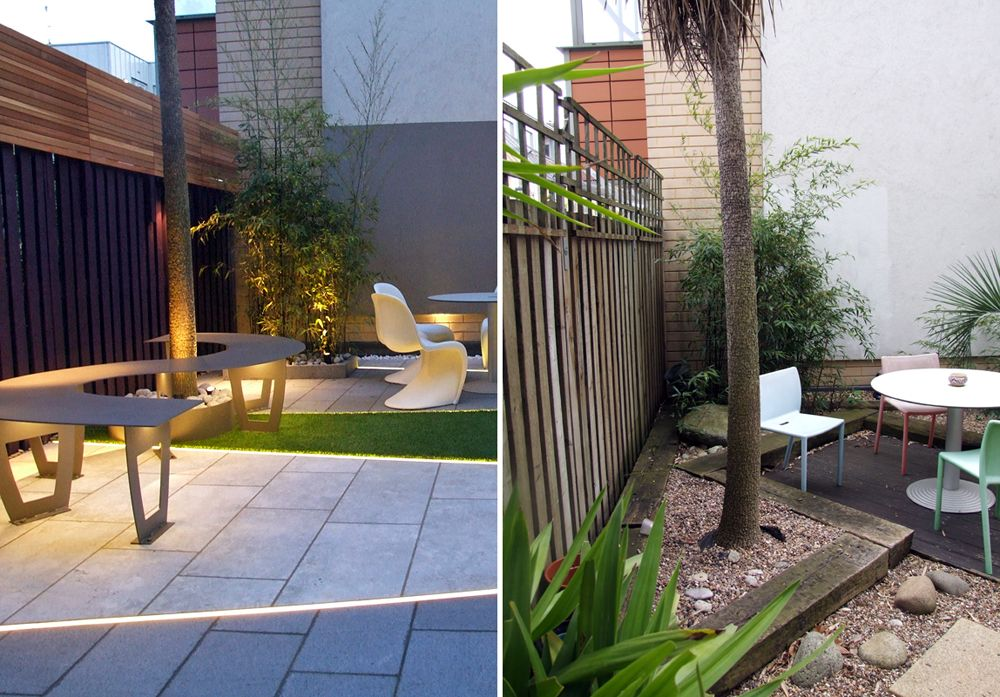 Before And After Of A Contemporary Garden In Highbury London Modern Landscape Design Modern Landscaping Modern Outdoor Spaces