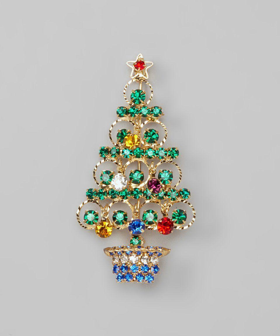 Christmas Tree Pendant Blue Christmas Tree Jewelry Set 925 Sterling Silver Earrings Christmas Tree Earrings Handmade in the USA