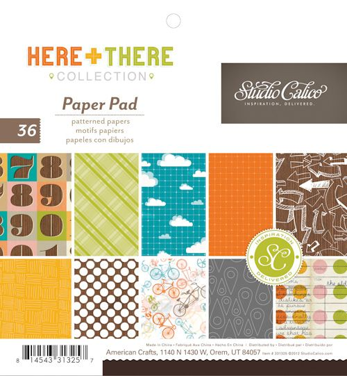 Studio Calico Here & There paper pad | CHA Winter 2013