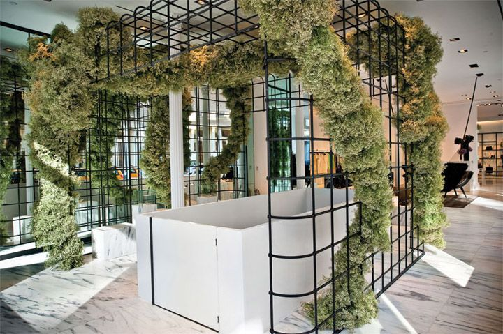 Alexander Wang flagship store by Kramer Design Group, New York   Soho  store design