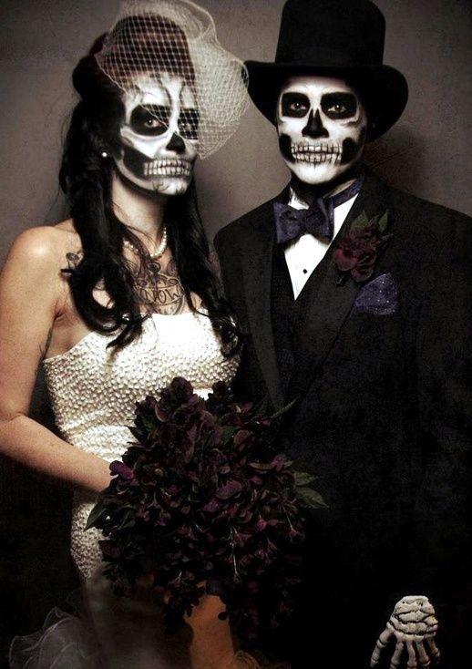 Photo of 21 fantastic couples of Halloween makeup ideas – diy for everything