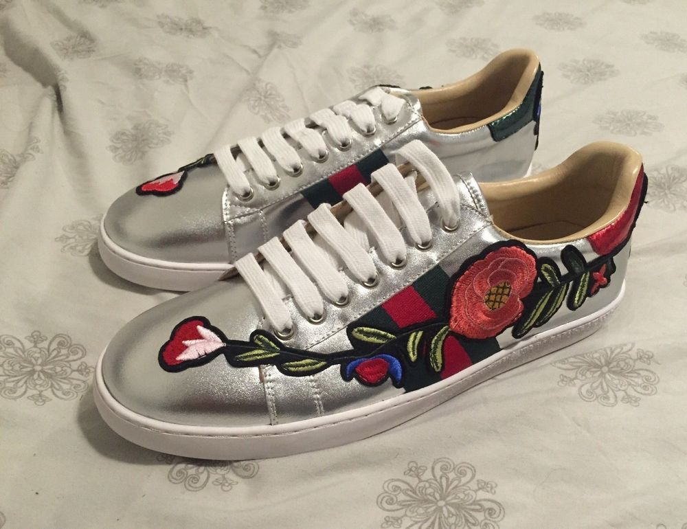 fb7b9253b32 Mens Gucci Ace Floral Sneakers Shoes size 11  fashion  clothing  shoes   accessories