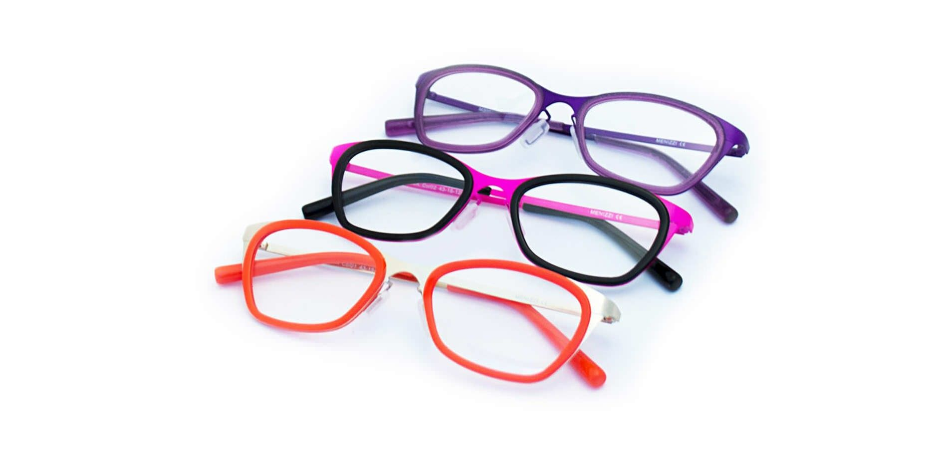 The Menizzi collection makes petite glasses for smaller faces and ...