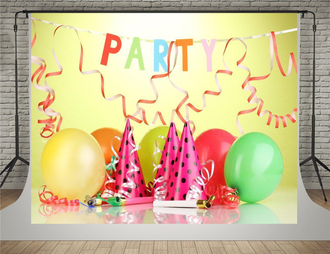 Brilliant Party Backdrop Happy Birthday Birthday Backdrop Birthday Cake Funny Birthday Cards Online Fluifree Goldxyz