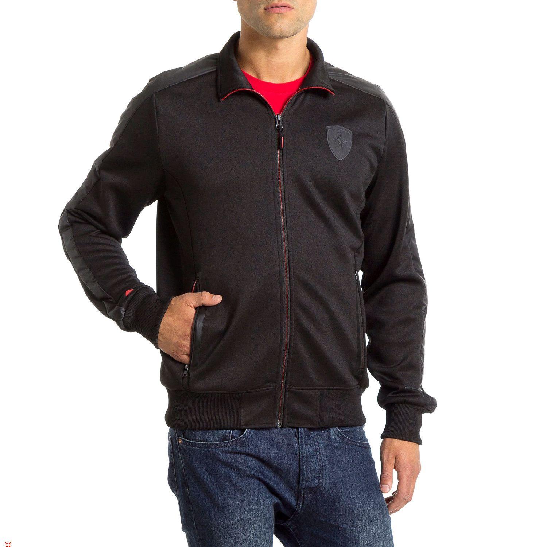 Puma Ferrari Track Jacket Mens Mens Jackets Track Jackets Jackets