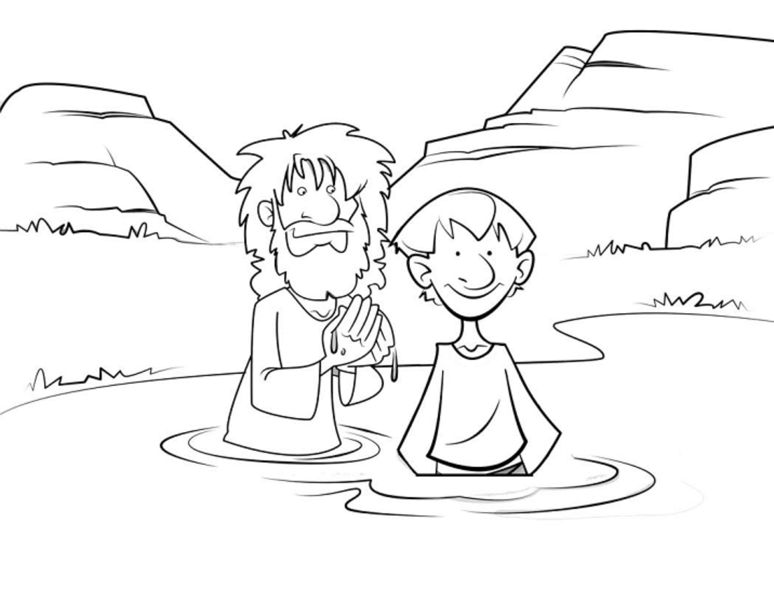 vida61.jpg (2646×2062) | Coloring pages, John the baptist ...